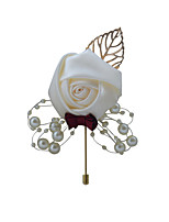 cheap -Women's Brooches Vintage Style Flower Simple Brooch Jewelry Pink and Orange Golden Cream For Wedding Party Engagement