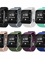 cheap -watch bands compatible for garmin forerunner 35 bands, soft silicone sports replacement wristbands strap for garmin forerunner 35 smart watch, no tracker, 8 packs