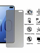 cheap -[1-pack] samsung galaxy (s10 plus/s10/s10e) privacy screen protector, clear soft hydrogel film tpu screen protector [no bubble] [anti-scratch] samsung s10/s10+/s10e 2019 (privacy)