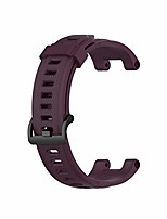 cheap -jkred sport bands for amazfit t-rex smartwatch fashion premium soft silicone strap quick release watch band colorful (purple)