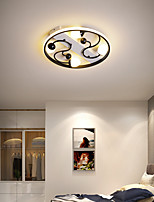cheap -42/52 cm LED Ceiling Light Round Square Nordic Black White Gold Bedroom Living Room Modern Simple Luxury Household Bedroom Dining Room Christmas Decoration