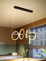cheap -80cm LED Pendant Light Circle Design Modern Nordic Island Light Dining Room Bar Restaurant Metal Painted Finishes Nature Inspired 220-240V