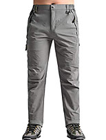 cheap -men's outdoor breathable cargo sun pants quick drying stretch mountain hiking pants l light grey