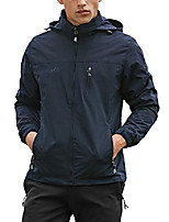 cheap -mens lightweight windbreaker windproof jacket blue 2xl