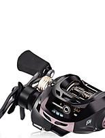 cheap -Fishing Reel Baitcasting Reel 6.51 Gear Ratio 7 Ball Bearings Adjustable for Sea Fishing / Freshwater Fishing / Trolling & Boat Fishing / Right-handed / Left-handed
