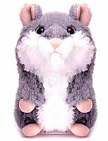 cheap -upgrade talking hamster repeats what you say electronic pet talking plush toy, ideal gift for kids.