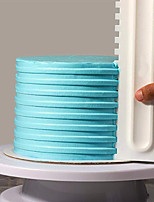cheap -Cake Decorating Comb Cake Scraper Smoother Cream Decorating Pastry Icing Comb Fondant Spatulas Baking Pastry Tools