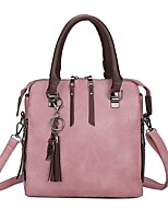 cheap -Women's Bags Top Handle Bag 2021 Date Office & Career Black Red Blushing Pink Green