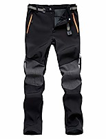 cheap -men's outdoor hiking pants - fleece lined quick dry mountain pants trousers