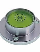 cheap -surface mounted aluminium housing circular spirit level bubble level ball vials, d30mm flange plate type