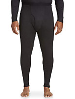 cheap -by dxl big and tall performance thermal pants, black, 3xl