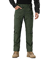 cheap -men's tactical pants cargo pants for men hiking pants military training heavy work high-performence armygreen
