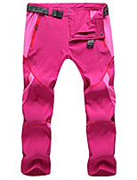cheap -women's outdoor windproof waterproof quick dry pants hiking mountain cargo trousers rose red