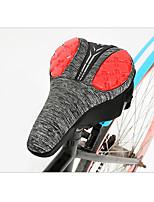 cheap -comfortable bike seat thick cushion hollow bicycle saddle for mountain bike/road bike/folding bike,soft high-elasticity durable bike seat pu cushion (c)