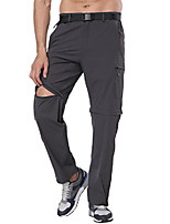 cheap -men's convertible pants ligtweight outdoor pants quick dry cargo pants for hiking, graphite grey, xl