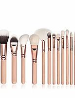cheap -professiona makeup brushes set powder foundation eyeshadow make up brushes 15pcs pink no bag
