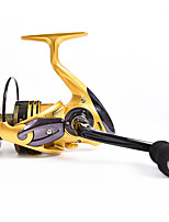 cheap -Fishing Reel Spinning Reel 5.1:1 Gear Ratio+13 Ball Bearings Sea Fishing / Bait Casting / Freshwater Fishing / Trolling & Boat Fishing / Hand Orientation Exchangable