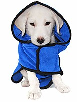 cheap -dog bathrobes fast drying bathrobe for dogs microfiber dog towel robe bath robe absorbent dog towel dog pajamas four, xl