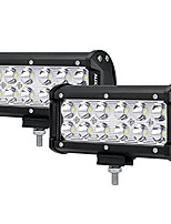 """cheap -7"""" led light bar 36w spot off road driving light waterproof for trucks 4x4 military mining boating farming and heavy equipment"""