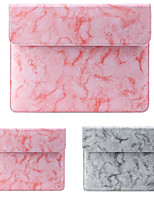 cheap -11.6 Inch Laptop / 12 Inch Laptop / 13.3 Inch Laptop Sleeve / Tablet Cases PU Leather / Polyurethane Leather Textured / Marble for Men for Women for Business Office Waterpoof Shock Proof