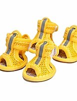 cheap -fashion dog summer shoes breathable mesh shoes dog sandals for hardwood floors, hot pavement and paw protectors
