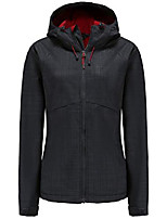 cheap -women's fleece lined softshell waterproof jacket lightweight anorak hiking coat(antracite,xl)