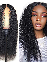 cheap -Synthetic Wig Afro Curly Layered Haircut Wig Long Black Synthetic Hair Women's Soft Fluffy Mixed Color