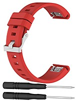 cheap -awinner replacement bands for garmin fenix 5 quick fit 22mm watch band silicone (red)