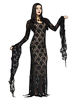 cheap -lace miss darkness adult costume medium black