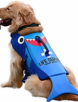 cheap -dog life jacket large,dog life vests for swimming, lifejacket lifesaver lifeguard life vest for small medium and large dogs, cute shark turtle or lobster shape, dog sports floating jackets, adjustable
