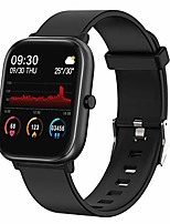 "cheap -smart watch, fitness tracker for android phones and ios phones,1.4"" touch screen smartwatch with ip68 waterproof,heart rate monitor,sleep monitor,step calorie counter for women and men"