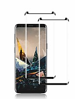 cheap -galaxy s9 plus screen protector by ye, [2 pack] full coverage tempered glass screen protector [3d touch] [bubble-free] [9h hardness] screen protector glass for samsung galaxy s9 plus