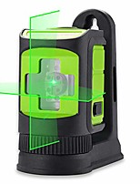 cheap -sa-02cg laser level self-leveing, horizontal and vertical lines, mini cross line laser for diy with magnetic bracket green laser beam …