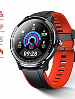 cheap -smart watch fitness tracker for home health compatible with ios and android phones smart watches with blood pressure heart rate sleep monitor breath train step counter activity watch for men