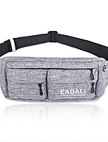 cheap -ejercicios accesorios para mujeres hombres belt bag for women men waist belt bag pack phone holder for running for iphone8 plus 6.0-inch (light gray)