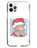cheap -Christmas Case For Apple iPhone 12 iPhone 11 iPhone 12 Pro Max Unique Design Protective Case and Screen Protector Shockproof Back Cover TPU