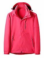 cheap -women's rain coats lightweight hooded jackets waterproof hoodie detachable breathable outdoor rain jacket sportswear memela hot pink