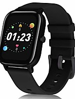 cheap -skynew smart watch fitness tracker watch with heart rate/female health monitor/music control, ip68 waterproof pedometer 1.4-inch full-touch sport watch for men women android ios