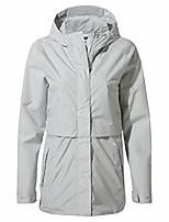 cheap -women's minori rain jacket lightweight hooded vented waterproof shellwith tailored fit - venetianteal, xs dove grey