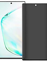 "cheap -galaxy note 10(6.3"") privacy screen protector, tempered glass anti glare/spy anti-scratch no bubble 9h hardness 3d touch compatible with samsung galaxy note 10"