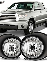 cheap -oem series for [2007 2008 2009 2010 2011 2012 2013 toyota tundra] driving fog lights + switch + wiring kit (clear)