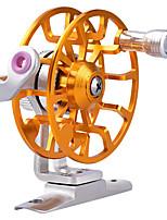 cheap -Fishing Reel Fly Reel 1:0.1 Gear Ratio Ball Bearings Fly Fishing / Bass Fishing / Hand Orientation Exchangable