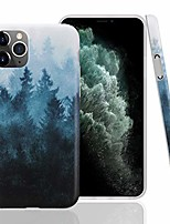 cheap -case for iphone 11 pro,floral series slim-fit ultra-thin anti-scratch shock proof dust proof anti-finger print tpu gel case for iphone xi pro 5.8 inch(2019 release)-forest