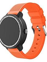 cheap -silicone watch band replacement wristband strap for garmin vivoactive 3, smasung gear s2 classic, moto 360 2nd gen 42mm, garmin vivomove hr, huawei watch 2 smart watch (orange)