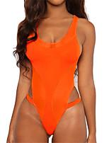 cheap -Women's Fashion Sexy Bikini Swimsuit Padded Normal Swimwear Bathing Suits Wine Orange / Padded Bras