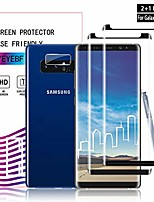 cheap -galaxy note 8 screen protector + camera lens protectors by ye, [2 + 1 pack] full coverage tempered glass screen protector [3d touch] [bubble-free] screen protector glass for samsung galaxy note 8