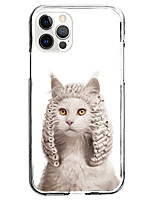 cheap -Lovely Cat Case For Apple iPhone 12 iPhone 11 iPhone 12 Pro Max Unique Design Protective Case with Screen Protector Shockproof Back Cover TPU