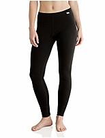 cheap -womens base layer  thermal pants leggings for women black
