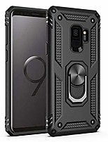 cheap -samsung galaxy s9 plus case ,[ military grade ] 15ft. drop tested protective case | kickstand | compatible with samsung galaxy s9 plus-black