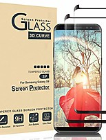 cheap -galaxy s9 screen protector,full coverage tempered glass[2 pack][3d curved] [anti-scratch][high definition] tempered glass screen protector suitable for galaxy s9(not s9 plus)